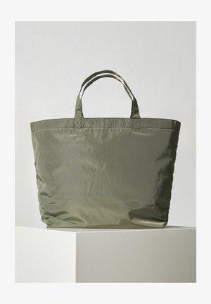 Tote bag - beetle green