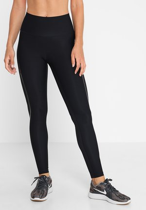 CASALL SCULPTURE HIGH WAIST - Leggings - liquid black