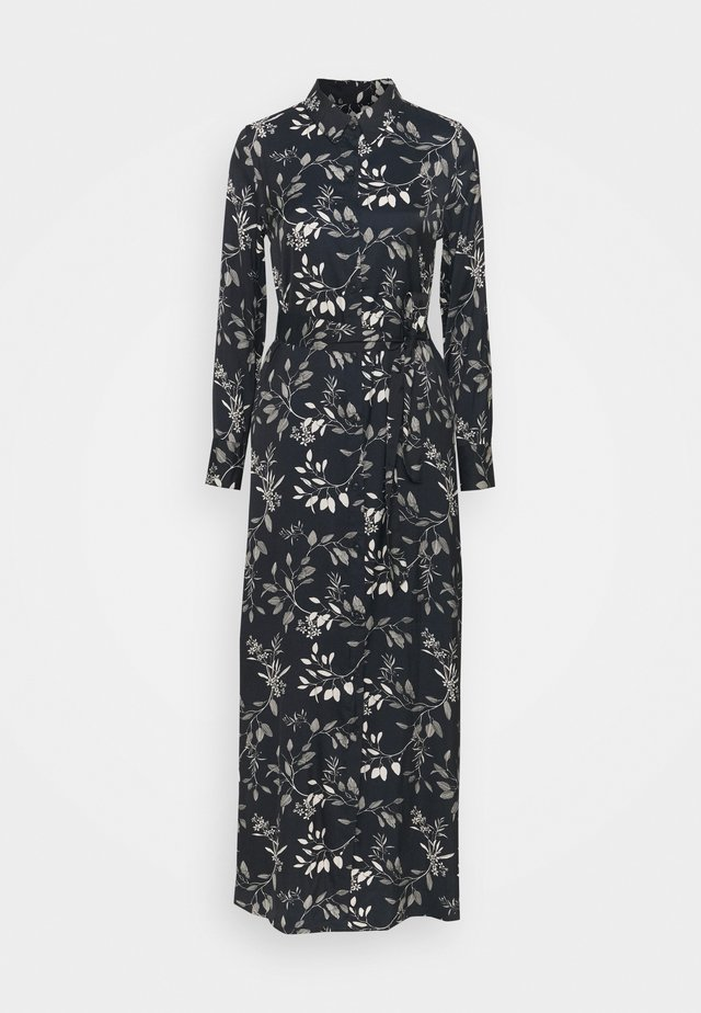 SHIRTDRESS - Długa sukienka - blue