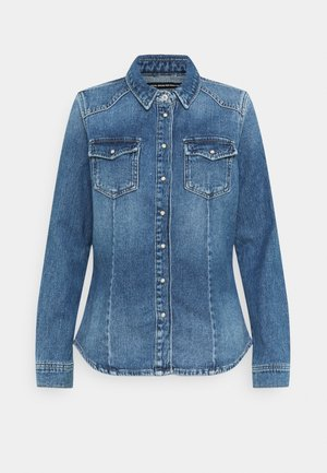 ONLROCK LIFE  - Chemisier - light blue denim