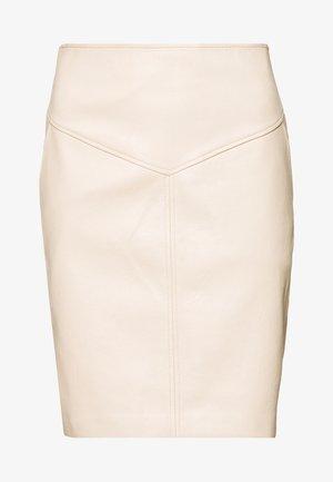 PEPA - Áčková sukně - natural