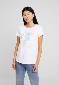 edc by Esprit - TEE - Print T-shirt - white - 0