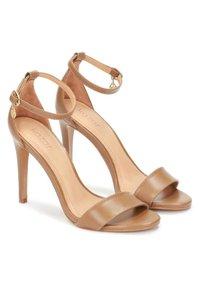 Kazar - MEGAN  - Sandály na vysokém podpatku - brown - 1