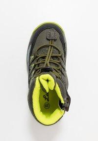 Lurchi - TRISTAN-TEX - Lace-up ankle boots - olive/citroen - 1