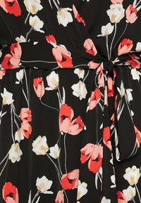 Missguided Plus - PLUNGE DRESS FLORAL - Day dress - red - 6