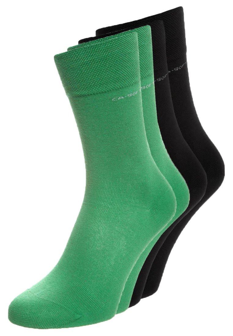 camano - 4 PACK - Socken - grass/black