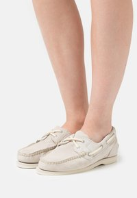 Timberland - CLASSIC - Boat shoes - white - 0