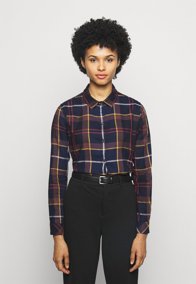 MOORLAND SHIRT - Button-down blouse - navy