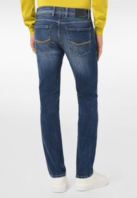 Pierre Cardin - LYON - Jeans Tapered Fit - mid blue used - 2