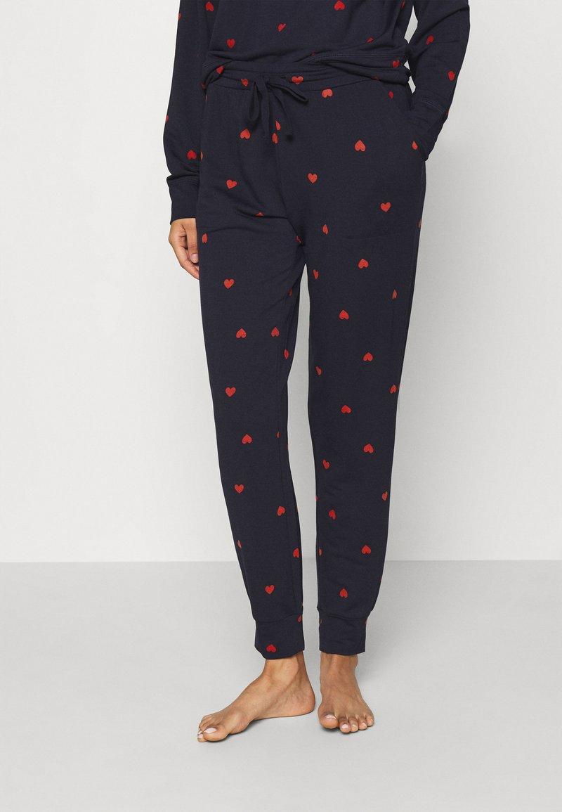 GAP - BABY TERRY - Pyjama bottoms - navy
