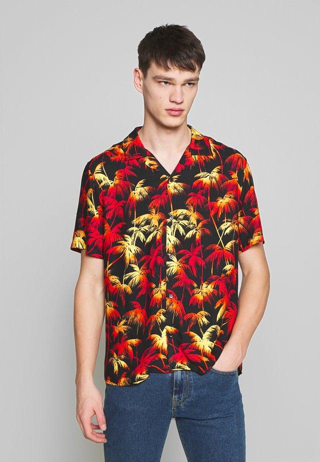PALM CHEMISE - Skjorte - multicolore/red