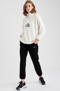 DeFacto Fit - Pantalones deportivos - black - 1