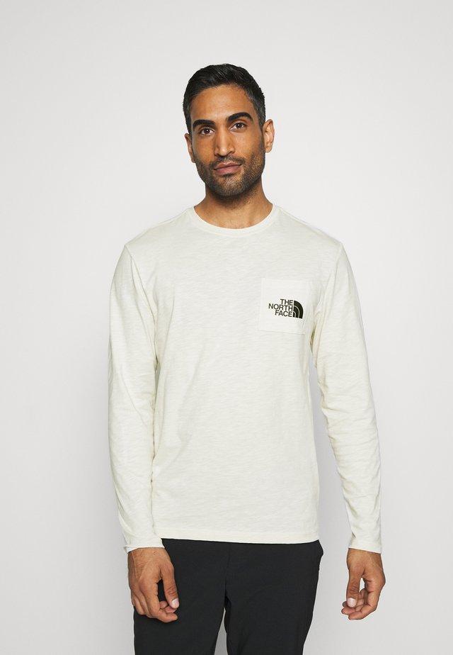 TISSAACK  - Long sleeved top - vintage white