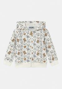 MOSCHINO - ADDITION UNISEX - Zip-up sweatshirt - cloud - 0