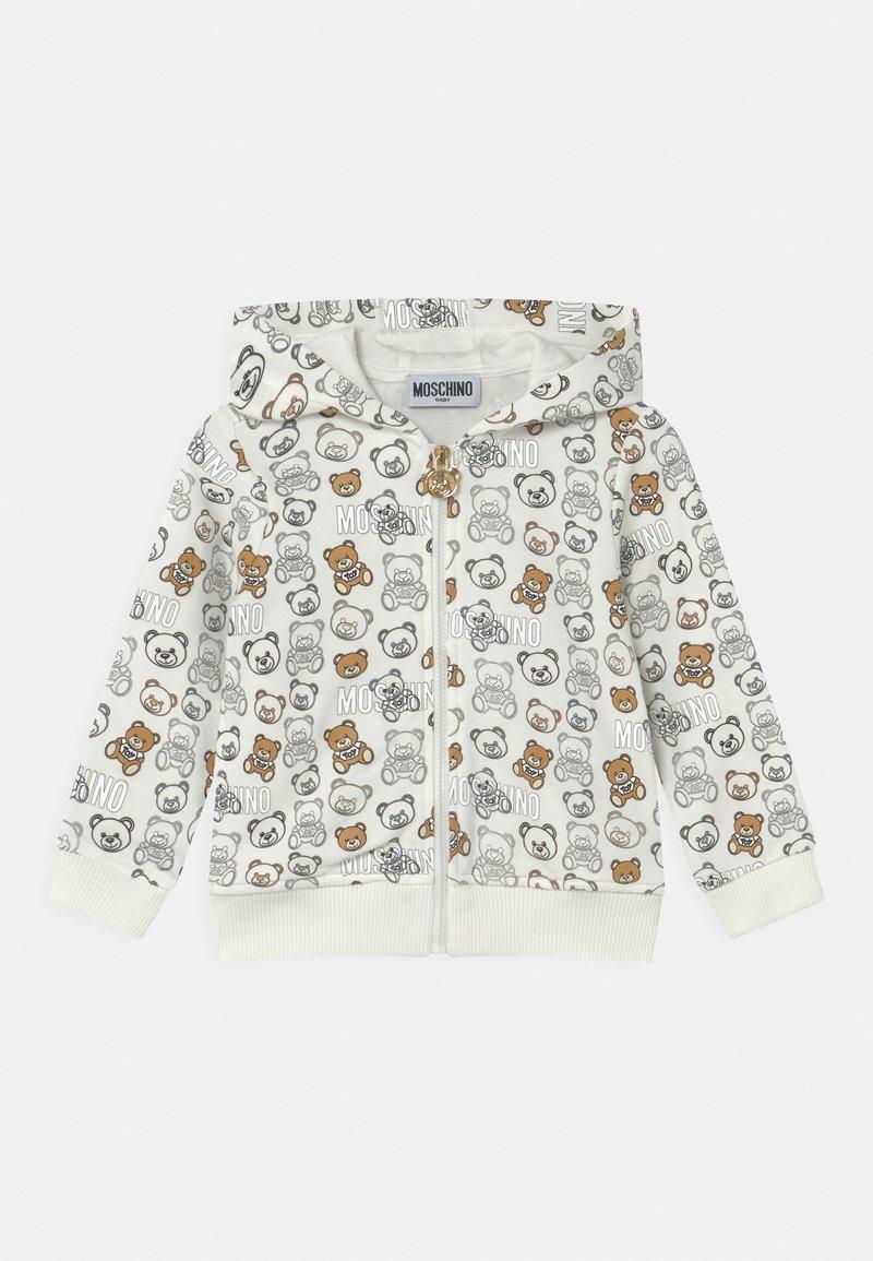 MOSCHINO - ADDITION UNISEX - Zip-up sweatshirt - cloud