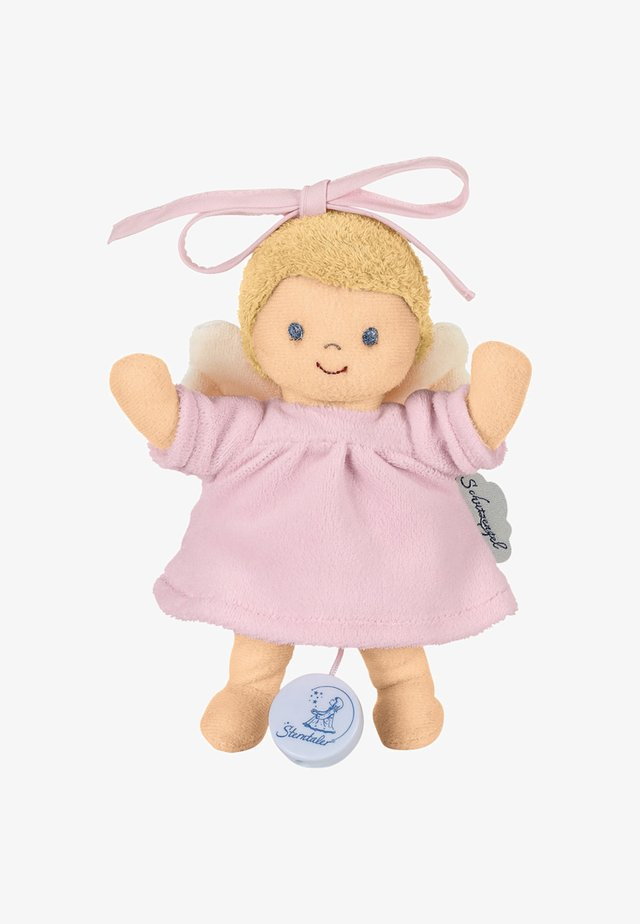 MINI-SPIELUHR SCHUTZENGEL ROSA - Toy - original