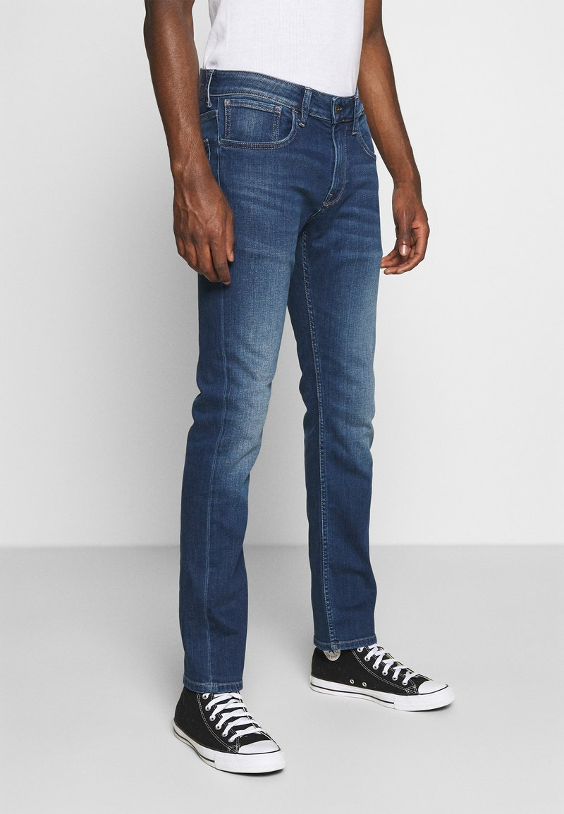 Pepe Jeans - CASH 5 PKT - Džíny Slim Fit - denim