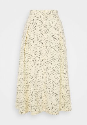 SIGRID BUTTON SKIRT - A-line skjørt - yellow
