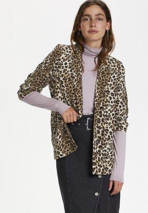 SLSHIRLEY - Blazer - beige leopard