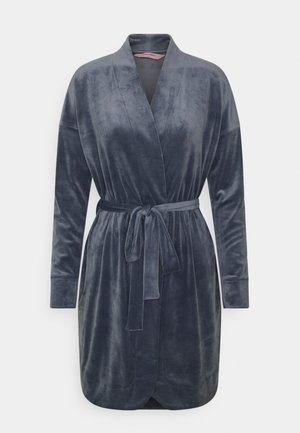 ROBE SHORT - Dressing gown - folkstone grey