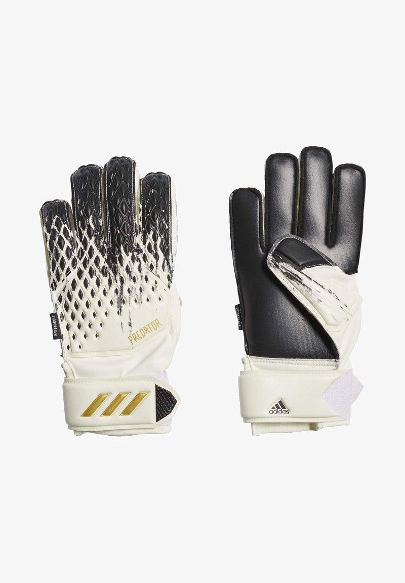 adidas Performance - PREDATOR MATCH - Goalkeeping gloves - white