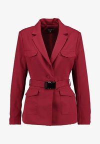 Missguided - BELTED - Blazer - red - 3