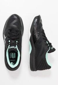 ASICS - NETBURNER BALLISTIC FF - Volleyball shoes - black/pure silver - 1