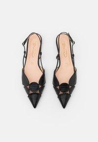 Bianca Di - Slingback ballet pumps - black - 5