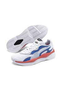 Puma - Trainers - white-palace blue - 4