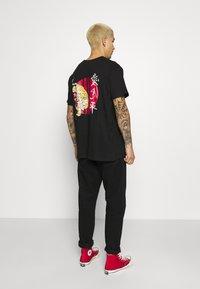 Brave Soul - TOKYO - T-shirt con stampa - black - 0