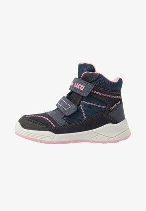 LEVANO - Winter boots - marine/rosa