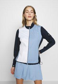 Cross Sportswear - JACKET - Kurtka sportowa - blue - 0