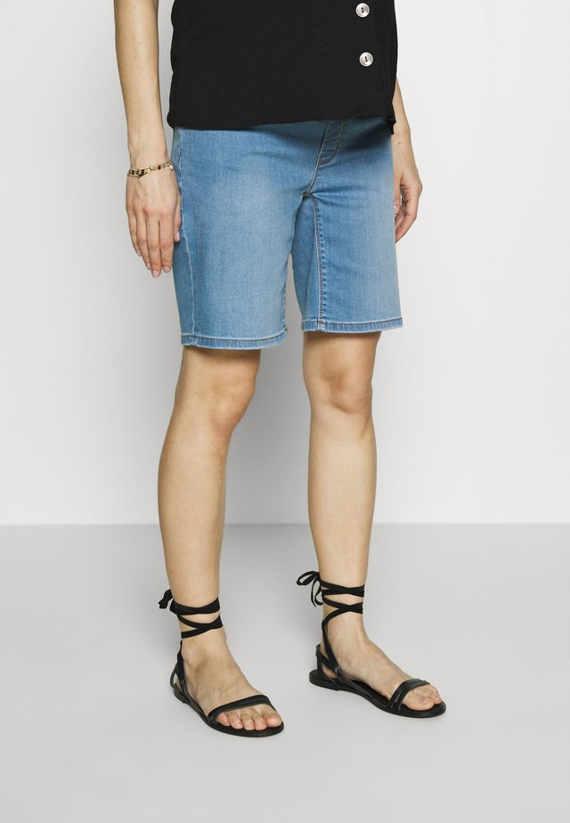 Short en jean - lightwash