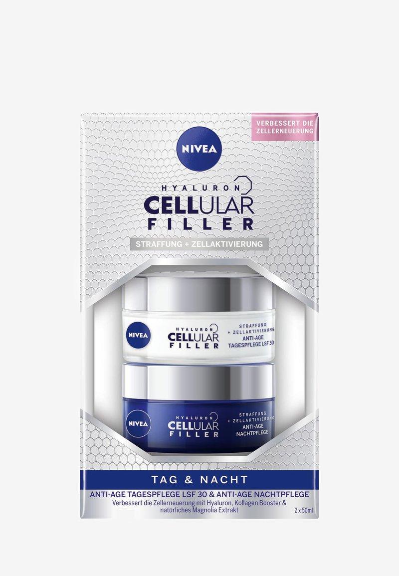 Nivea - HYALURON CELLULAR FILLER SET - Skincare set - -