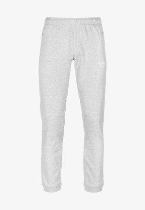 Pantaloni sportivi - grey marl / white