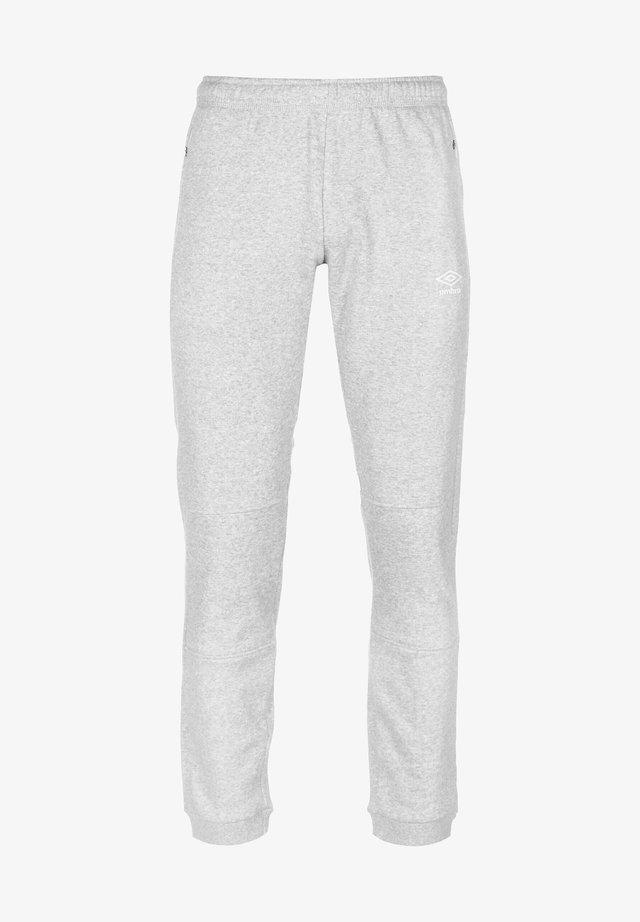 Pantalon de survêtement - grey marl / white