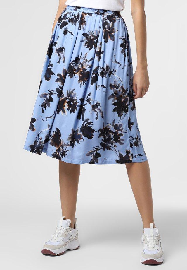 A-line skirt - hellblau