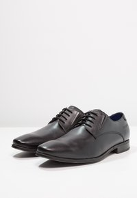 Bugatti - Smart lace-ups - black - 2
