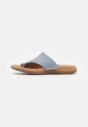 T-bar sandals - aquamarin