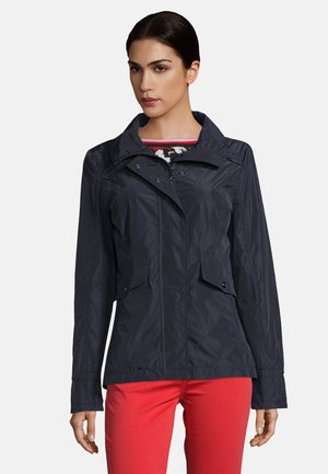 MIT STEHKRAGEN - Summer jacket - dark blue