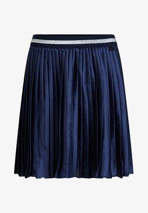 MET GLITTERDETAILS - A-snit nederdel/ A-formede nederdele - dark blue