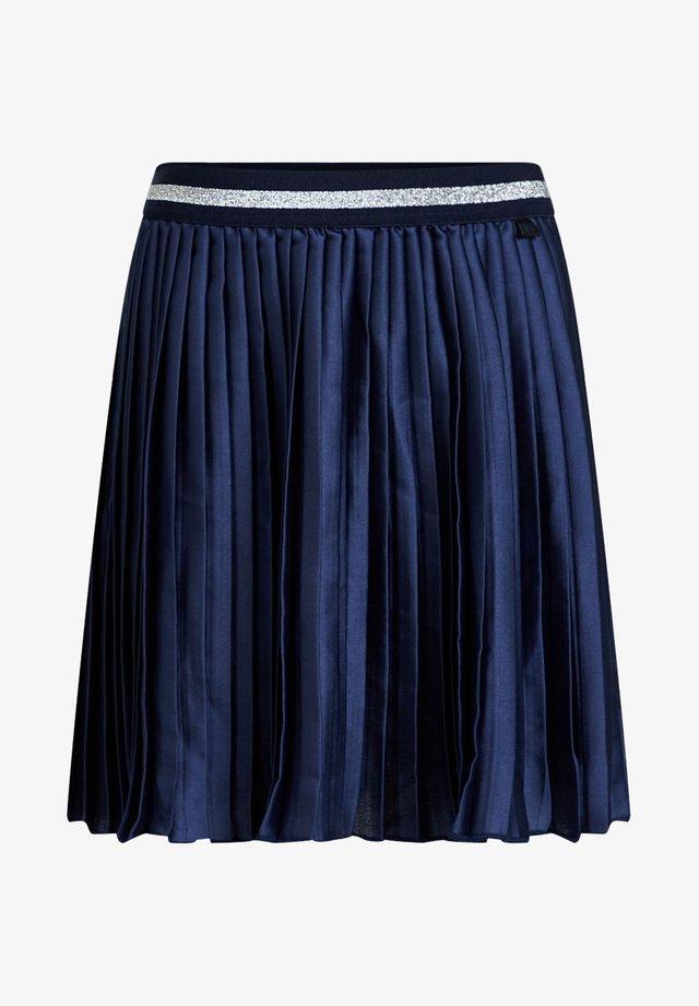 MET GLITTERDETAILS - Gonna a campana - dark blue