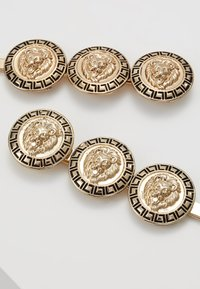 Topshop - COIN HAIR SLIDE 2 PACK - Hair Styling Accessory - gold-coloured - 4