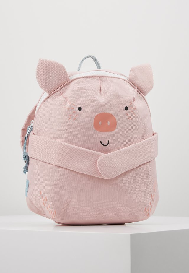BACKPACK PIG - Ryggsekk - rosa