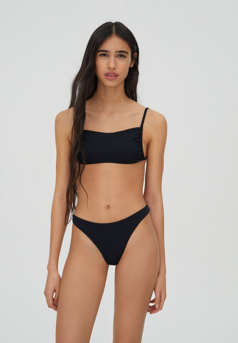 PULL&BEAR - Bikini bottoms - black