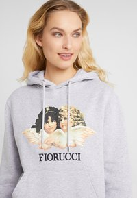 Fiorucci - VINTAGE ANGELS HOODIE - Felpa con cappuccio - heather grey - 4