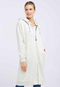 DreiMaster - Zip-up hoodie - white - 0