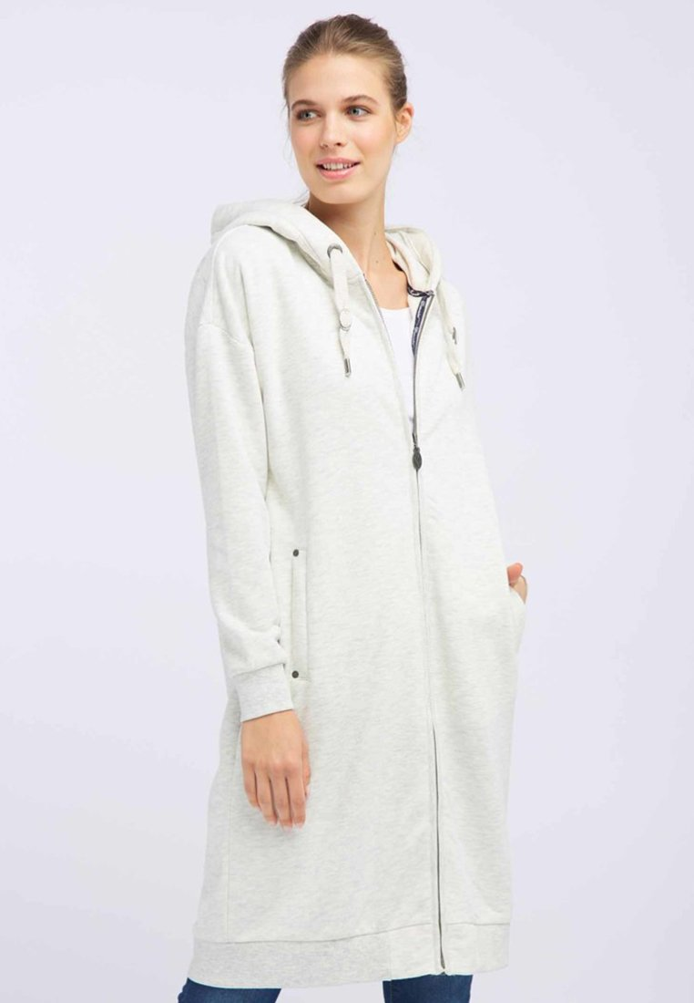 DreiMaster - Zip-up hoodie - white