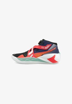 DISC REBIRTH - Chaussures de basket - elektro blue/fiery coral