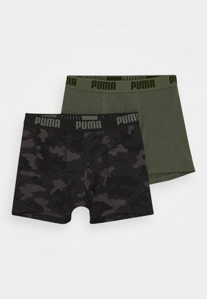 KIDS CAMO BOXER 2 PACK - Pants - army green